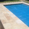 Pool Pavers in Antique Travertine Tiles