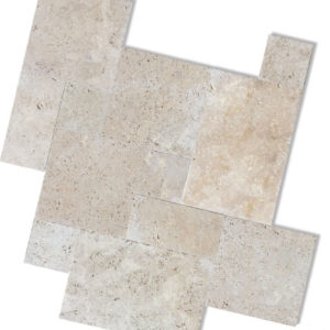 Ivory Travertine Tiles and Pavers