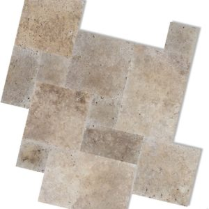 Noce Travertine Paving Tiles