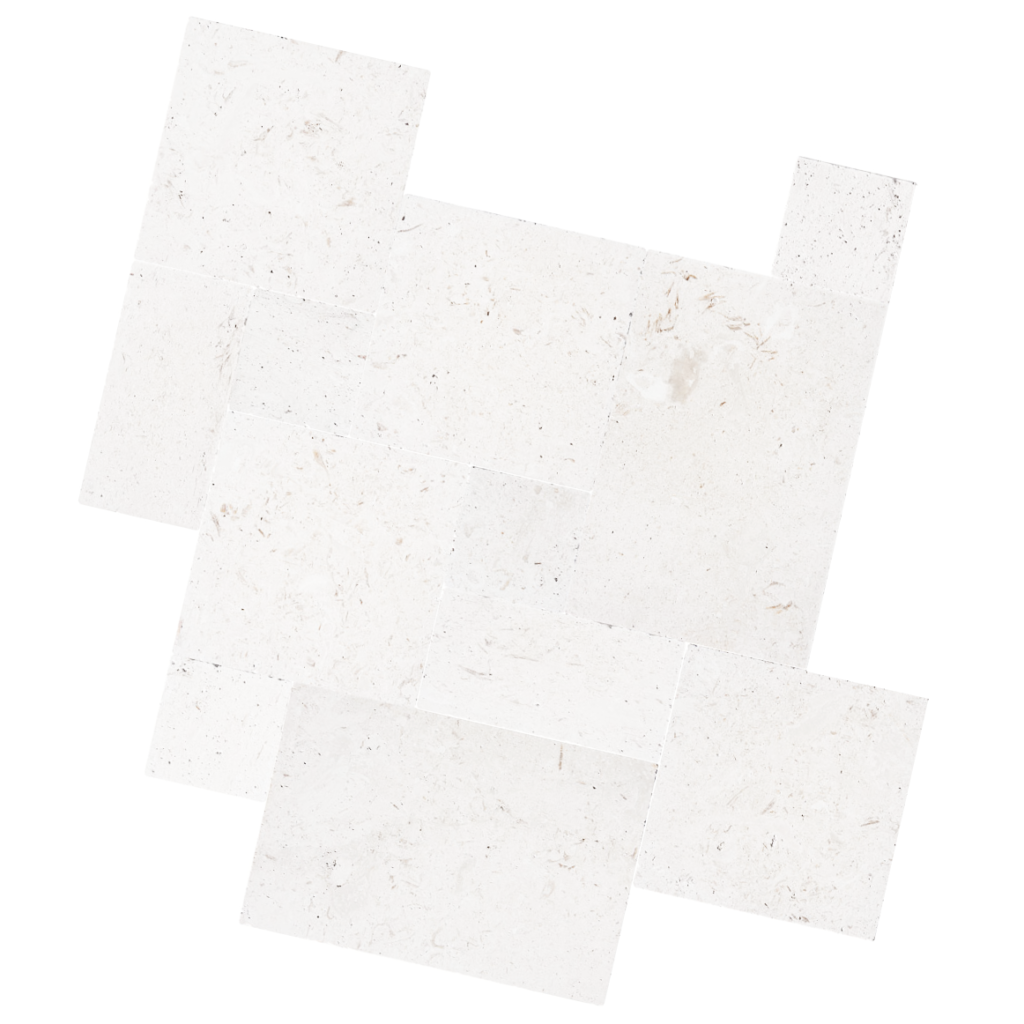 White Travertine Pavers