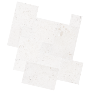 White Travertine Pavers