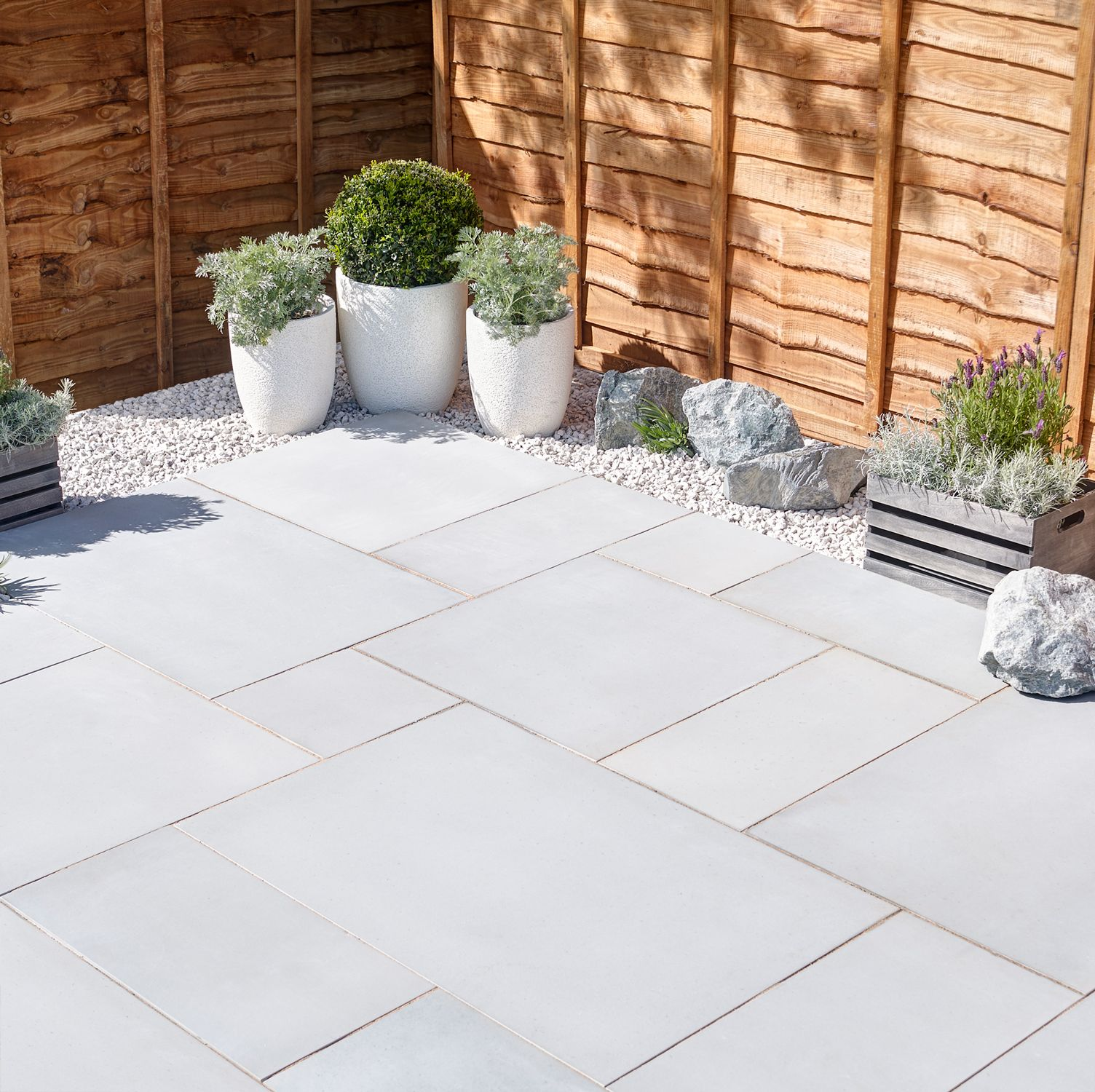 Shell White outdoor Tiles non slip surface
