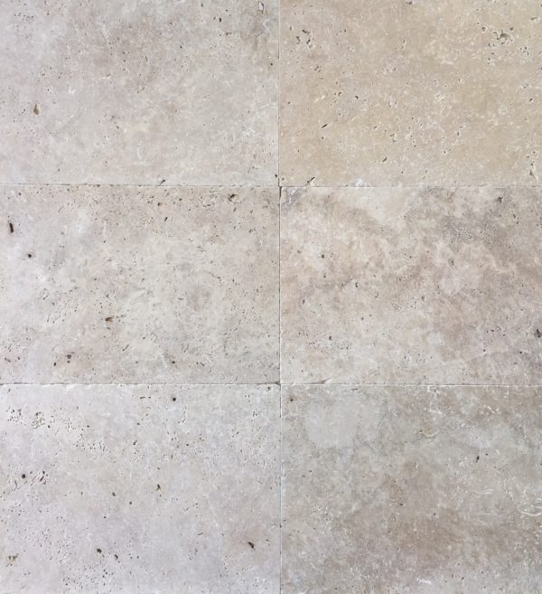 TRAVERTINE UNFILLED TUMBLED TILES